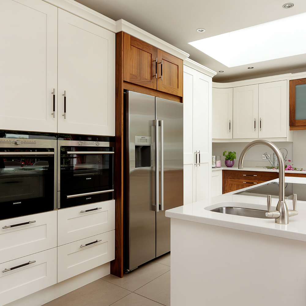 Keep the layout of your existing kitchen
